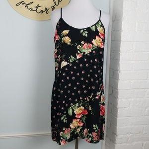 Xhilaration floral slip dress